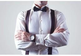 Bretelle da uomo: un must tornato di moda. Ecco perché averle in negozio!